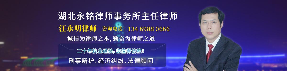 蘄春縣律師-汪永明律師