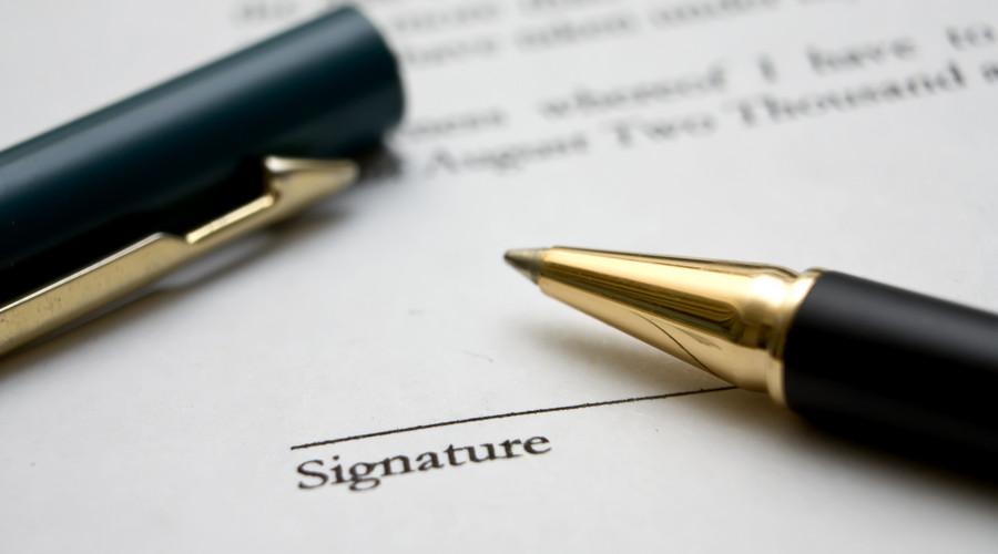 離婚協議書范本2019