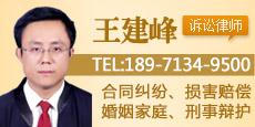武汉王建峰律师