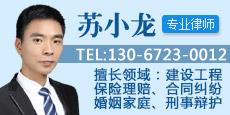 福州苏小龙律师