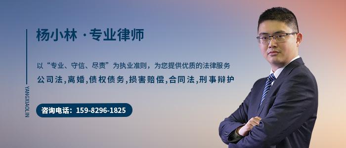 綿陽律師楊小林