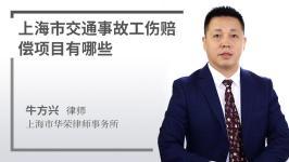 上海市交通事故賠償項目有哪些
