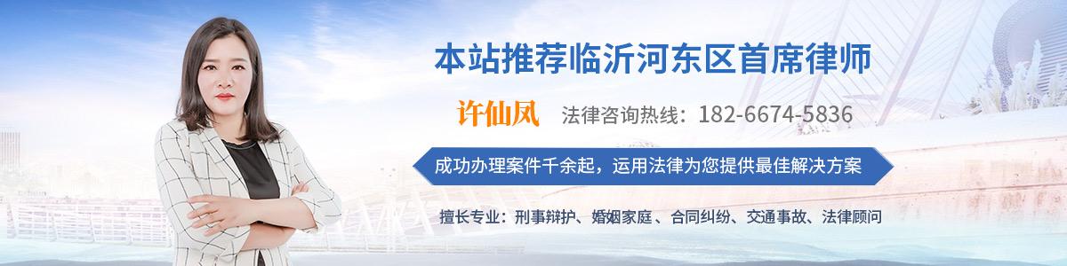 河东区律师-许仙凤律师