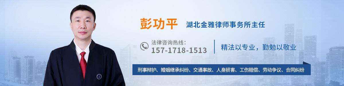 江岸区律师-彭功平律师